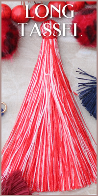 Long Variegated Tassel
