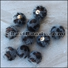 Fur Pompom GREY - per 10 pieces