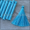 Long Variegated Tassel : TURQUOISE - per 10 pieces