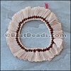 18mm Silky Tassel : BEIGE - per 50 pieces