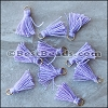 15mm RING : LILAC Tassel - per 10 pieces