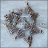 15mm RING : TAUPE Tassel - per 10 pieces