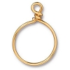 Wire Ring 20mm Gold Plate