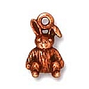 rabbit charm ANTIQUE COPPER