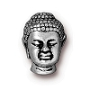 BUDDHA BEAD ANTIQUE SILVER