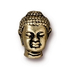 BUDDHA BEAD ANTIQUE GOLD