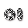 casbah euro bead ANTIQUE SILVER