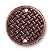 Link Woven Disc ANT COPPER