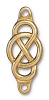 Link Infinity Centerpiece BRIGHT GOLD