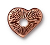 Rivetable Heart ANT COPPER