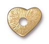 Rivetable Heart BRIGHT GOLD