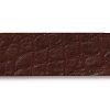 Leather Strip COGNAC - per piece