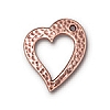 hammer heart ring ANTIQUE COPPER