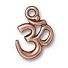 om charm ANTIQUE COPPER