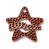 hammertone star toggle ANTIQUE COPPER