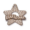 hammertone star toggle ANTIQUE SILVER