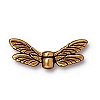 dragonfly wings bead ANTIQUE GOLD