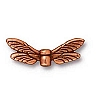 dragonfly wings bead ANTIQUE COPPER