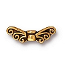 fairy wings bead ANTIQUE GOLD