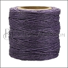 American Waxed Cord PURPLE - 0.050