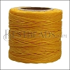 American Waxed Cord YELLOW - 0.050