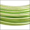 aluminum wire 1mm APPLE GREEN - 10m COIL