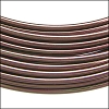 aluminum wire 1mm BROWN - 10m COIL