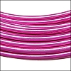 aluminum wire 1mm STRONG PINK - 10m COIL