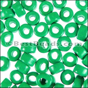 ceramic bead  per 1000 pieces NEON GREEN