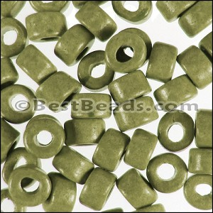 ceramic bead  per 1000 pieces LT OLIVE