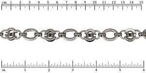 Industrial chain ANT SILVER - per 10ft spool