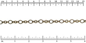 3:1 Nautical Chain ANT. BRASS - per 25ft spool