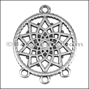 SMALL DREAMCATCHER euro charm ANT SILVER - per 10 pieces