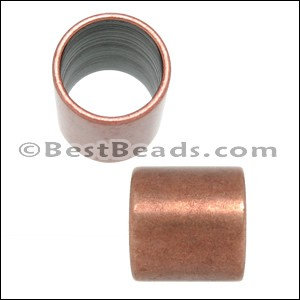 10mm round MEDIUM spacer ANT COPPER - per 10 pieces