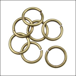 jump ring 12mm per 50pcs ANT BRASS