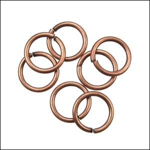 jump ring 12mm per 50pcs ANT COPPER