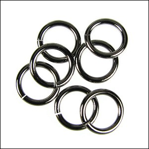 jump ring 12mm per 50pcs GUNMETAL