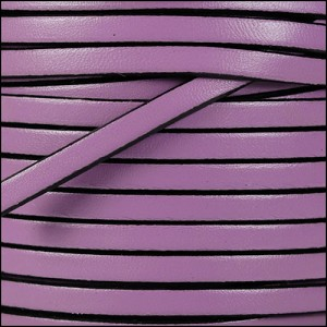 5mm flat leather LILAC - per 20m SPOOL