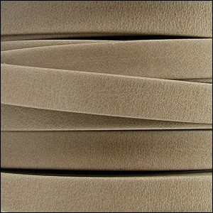 5mm flat ARIZONA leather SAND - per 5 meters