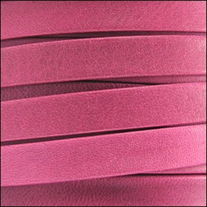 10mm flat ARIZONA leather FUCHSIA - per 20m SPOOL