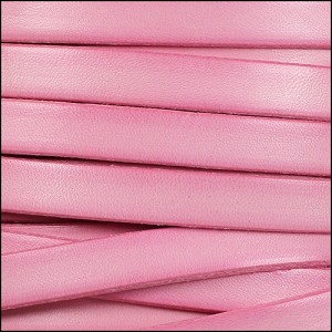 10mm flat leather DISTRESSED ROSE - per 20m SPOOL