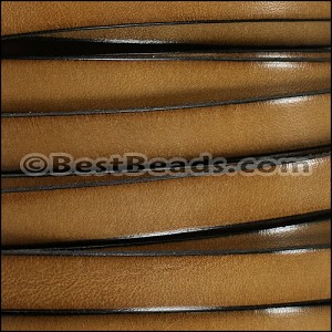 10mm flat leather CEDAR - per 20 meter SPOOL