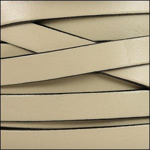 10mm flat leather CEMENT - per 2 meters