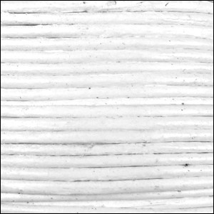 2mm round Indian leather - white - per 25m SPOOL