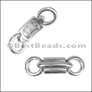 Multi Size CANDY slider ANTIQUE SILVER - per 10 pieces