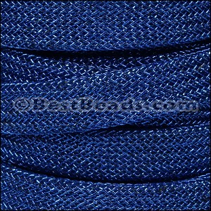 10mm Metal Knit Cord BLUE - per 3 yard spool