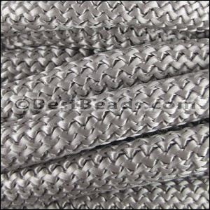 10mm round nylon cord GREY - per 3 meters