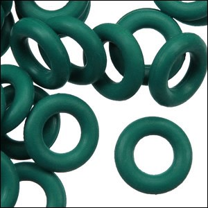 10mm rubber o-rings per 10 pieces MARINE TEAL