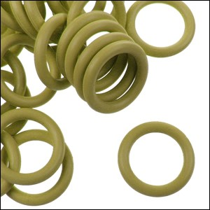 12mm rubber o-rings per 10 pieces OCHRE