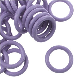 12mm rubber o-rings per 10 pieces PERIWINKLE